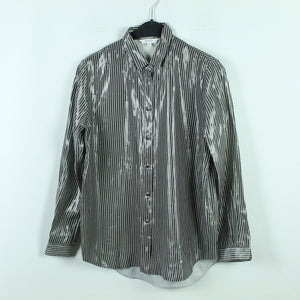 &other stories Bluse Gr. 34 silber oversized