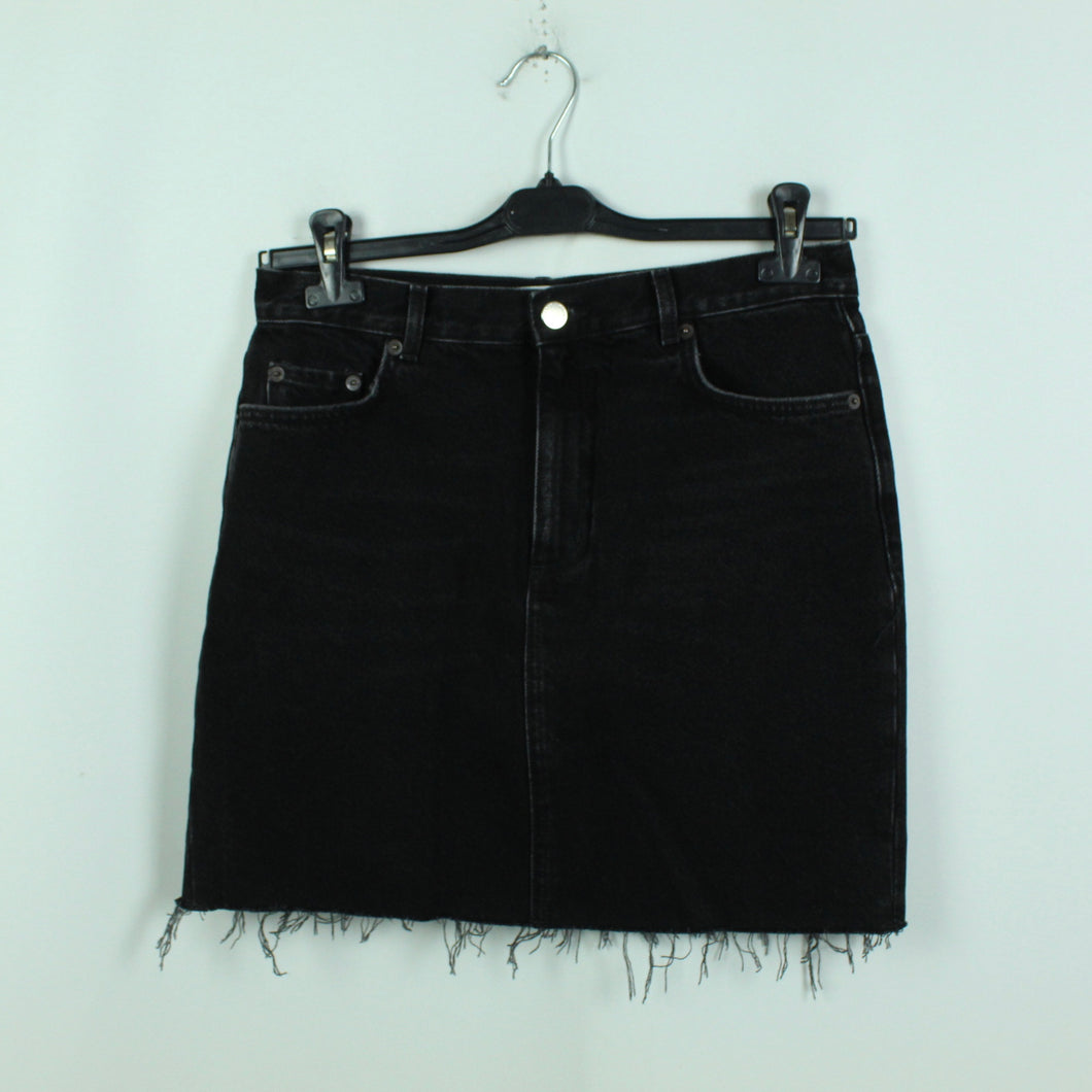 &other stories Jeansrock Gr. 40 schwarz