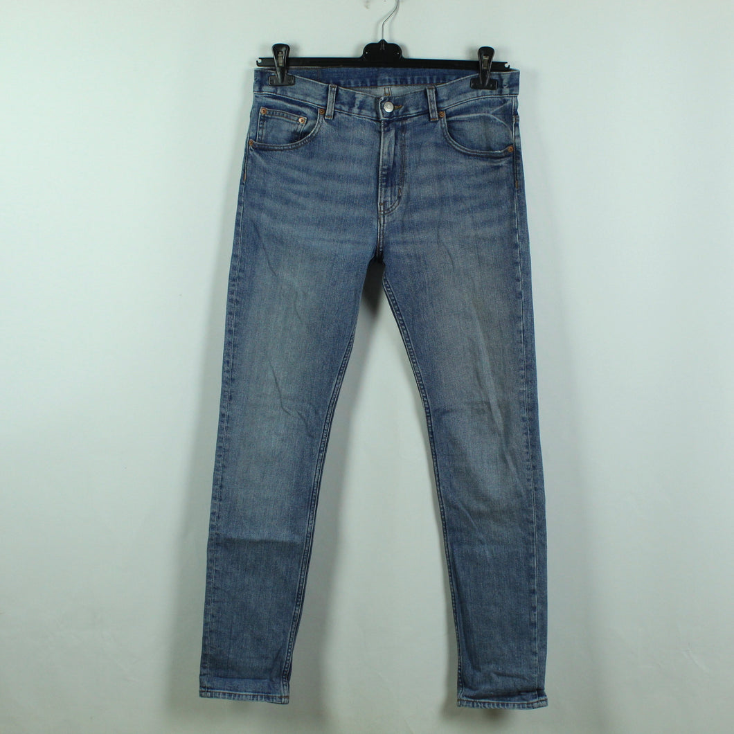 WEEKDAY Jeans Gr. 31/32 blau Mod. FRIDAY Instant Blue