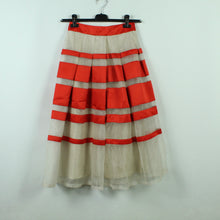 Laden Sie das Bild in den Galerie-Viewer, TEMPERLEY LONDON Midirock Gr. 36 rot beige NEU