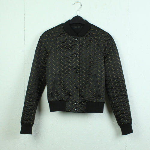 ALL SAINTS Blouson Gr. S schwarz braun