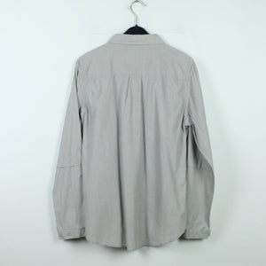 BY MALENE BIRGER Bluse Gr. 42 grau gestreift