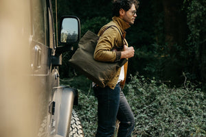 Waxed Canvas Tote Bag at Rogue Industries