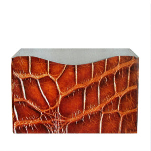 RFID Blocking Credit Card Sleeve - Alligator