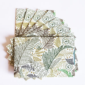 RFID Blocking Credit Card Sleeves - Fern