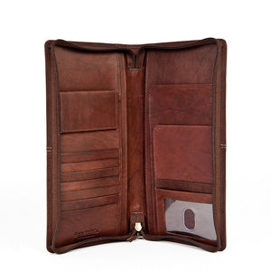 RFID-Blocking First Class Travel Organizer