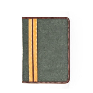 RFID-Blocking Passport Case in Canvas