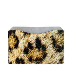 RFID Blocking Credit Card Sleeves - Leopard