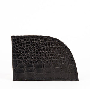 Rogue Front Pocket Wallet in Alligator - Factory Second