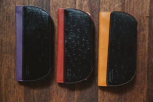 Ostrich Print Clutch Assortment - Rogue Industries