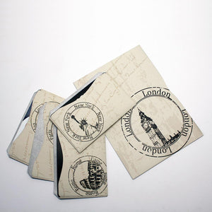 RFID Blocking Credit Card Sleeves - Vintage Travel