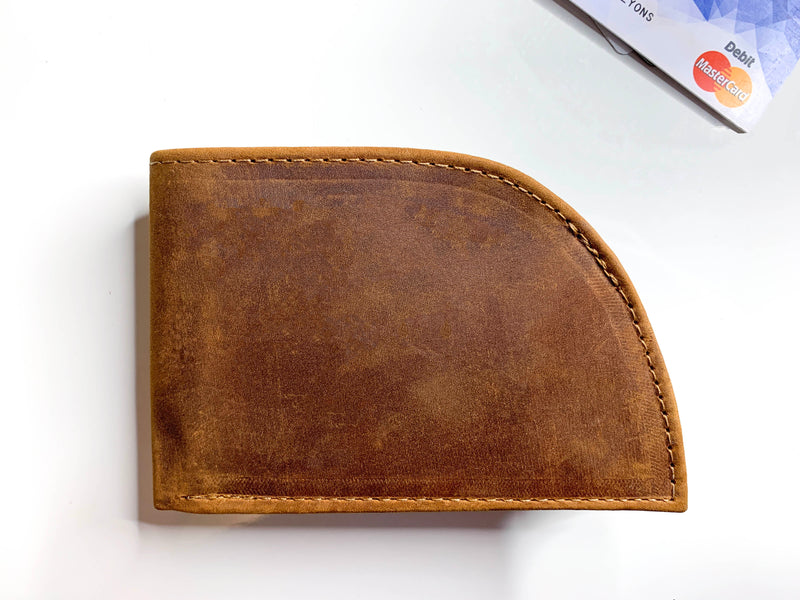 Rogue Front Pocket Wallet Allagash Tan Hero