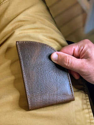 Rogue-Industries-Front-Pocket-Wallet-Horween-Bison-Leather