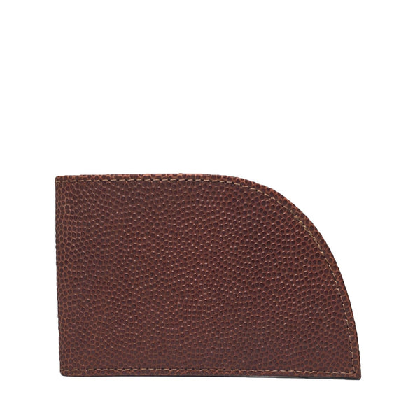 Football Leather Front Pocket Wallet