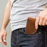 Rogue front pocket wallet in pocket