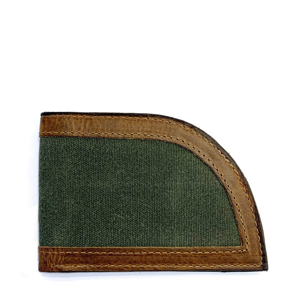 Rogue Front Pocket Wallet in Waxed Canvas