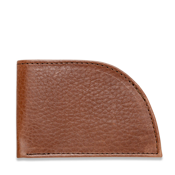 Rogue Front Pocket Wallet - Made in Maine - Brown