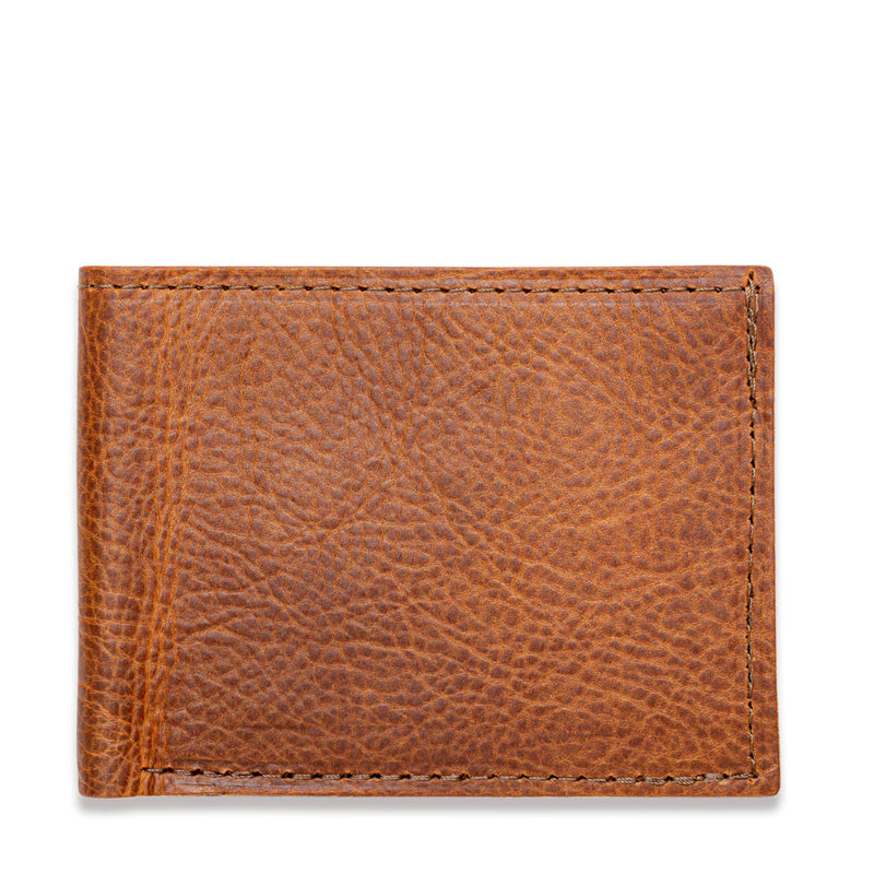 American Bison Leather Wallet - Rogue Industries - Brown