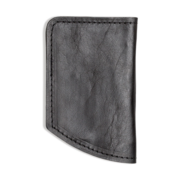 Minimalist Spartan Wallet in Bison - Black - 1