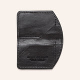 Minimalist Spartan Wallet in Bison - Black - Empty