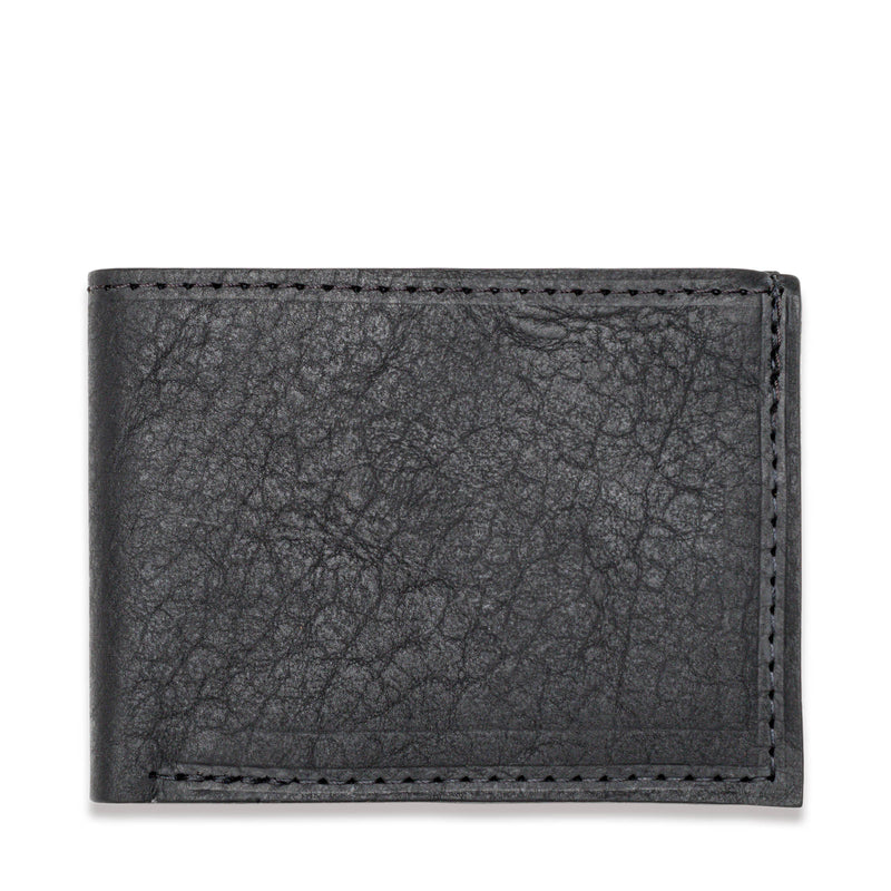 American Bison Leather Wallet - Rogue Industries - Front