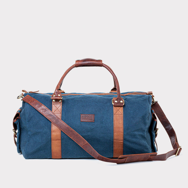 Waxed Canvas Duffle Bag from Rogue Industries - Navy - 2