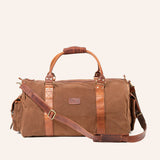Waxed Canvas Duffle Bag from Rogue Industries - Brown - 2