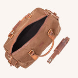 Waxed Canvas Duffle Bag from Rogue Industries - Brown - 4