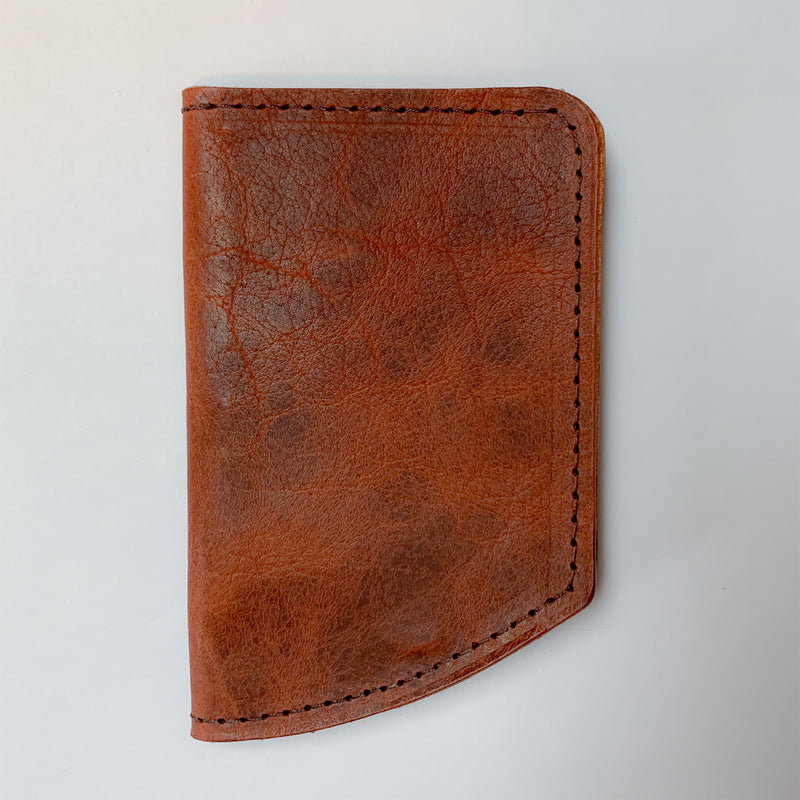 Spartan Minimalist Front Pocket Wallet - Brown Bison 1