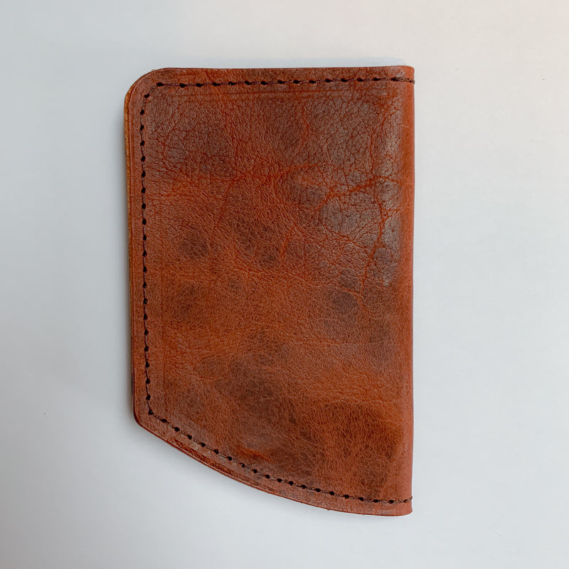 Spartan Minimalist Front Pocket Wallet - Brown Bison 2