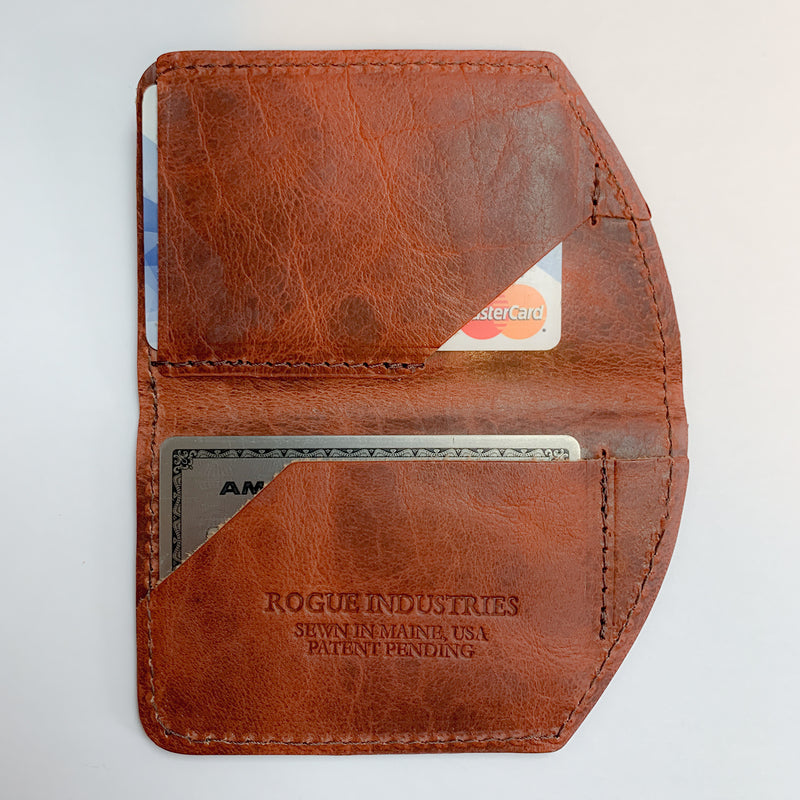 Spartan Minimalist Front Pocket Wallet - Brown Bison 14
