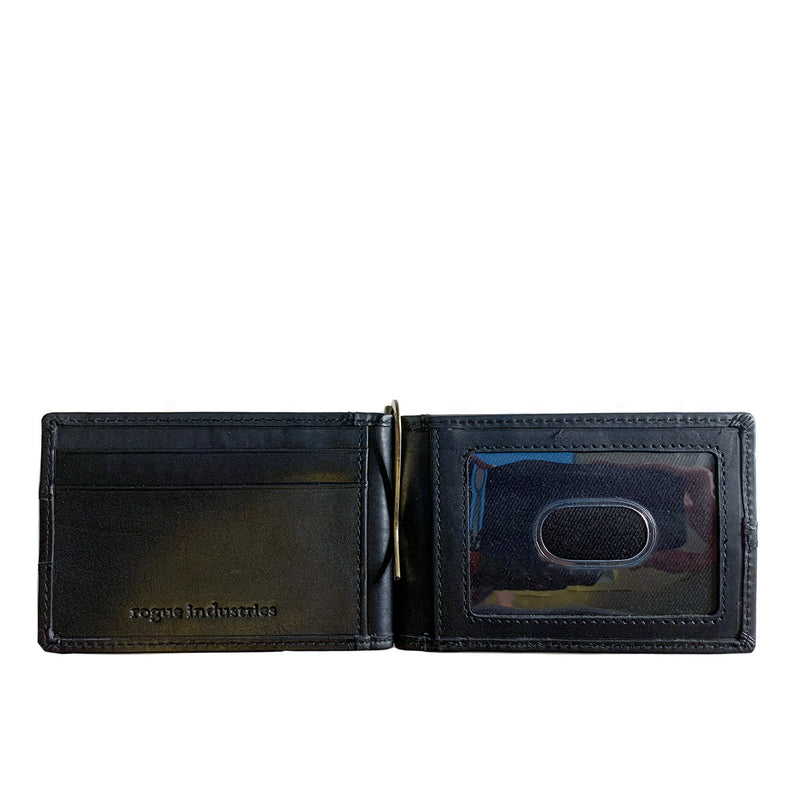 Minimalist Wallet with Money Clip