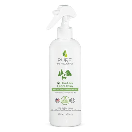 Repelente Contra Pulgas y Garrapatas - Flea & Tick Spray for Dogs de Pura Naturals®