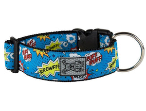 Wide Collar Modelo Comic Sounds - Collar Extra Ancho para Perros