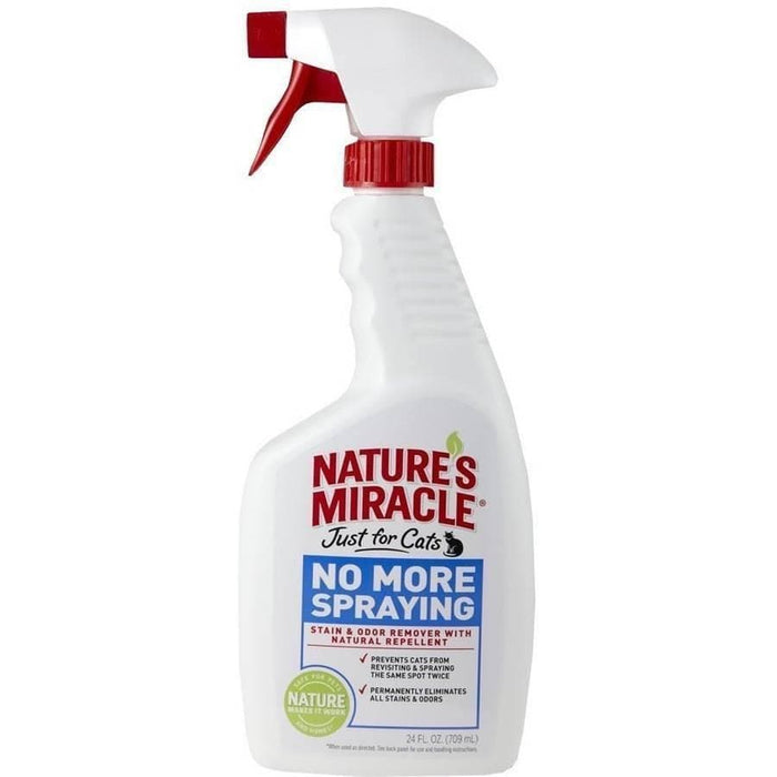 Spray Para que los Gatos No Marquen Territorio - Just For Cats No More Spraying de Nature´s Miracle