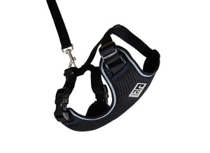 Arnes de Aventura para Gato -Color Negro Adventure Kitty Harness RC Pets