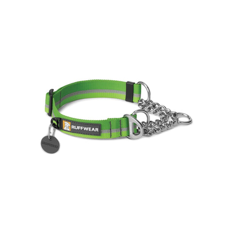 Collar para Perros Modelo Chain Reaction en Verde - Ruffwear