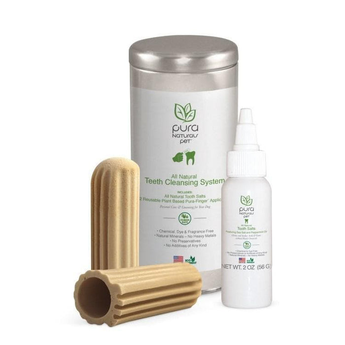 Sistema Natural de Limpiado de Dientes para Perros - All Natural Teeth Cleansing System