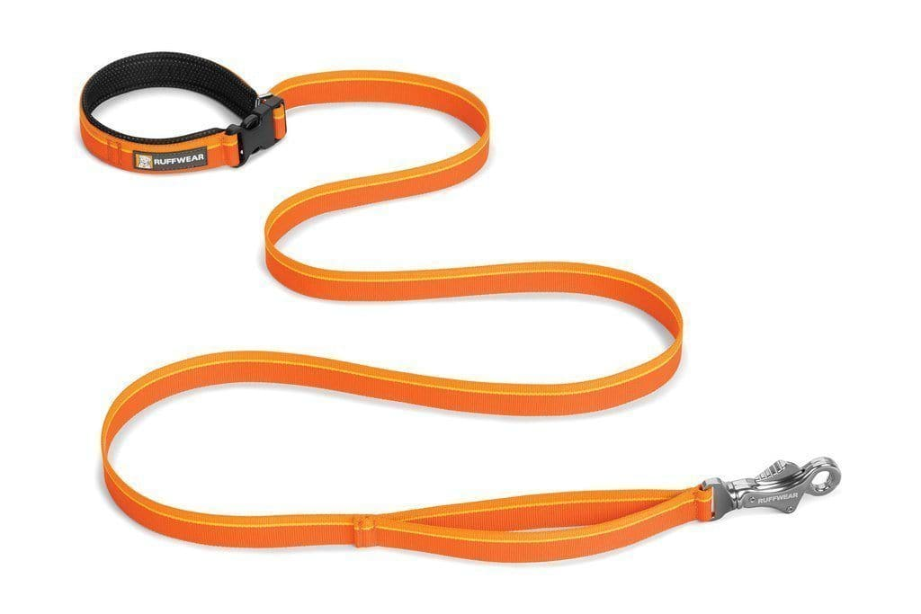 Correa para Perros Flat Out™ Leash Color Naranja - Ruffwear México