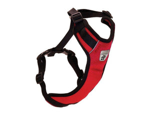 Pechera Ventilada V2 de Canine Friendly Rojo- Vented Vest Harness V2