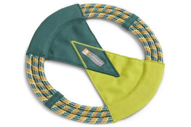 Disco para perros Verde/Amarillo - Pacific Ring Toy- de Ruffwear®