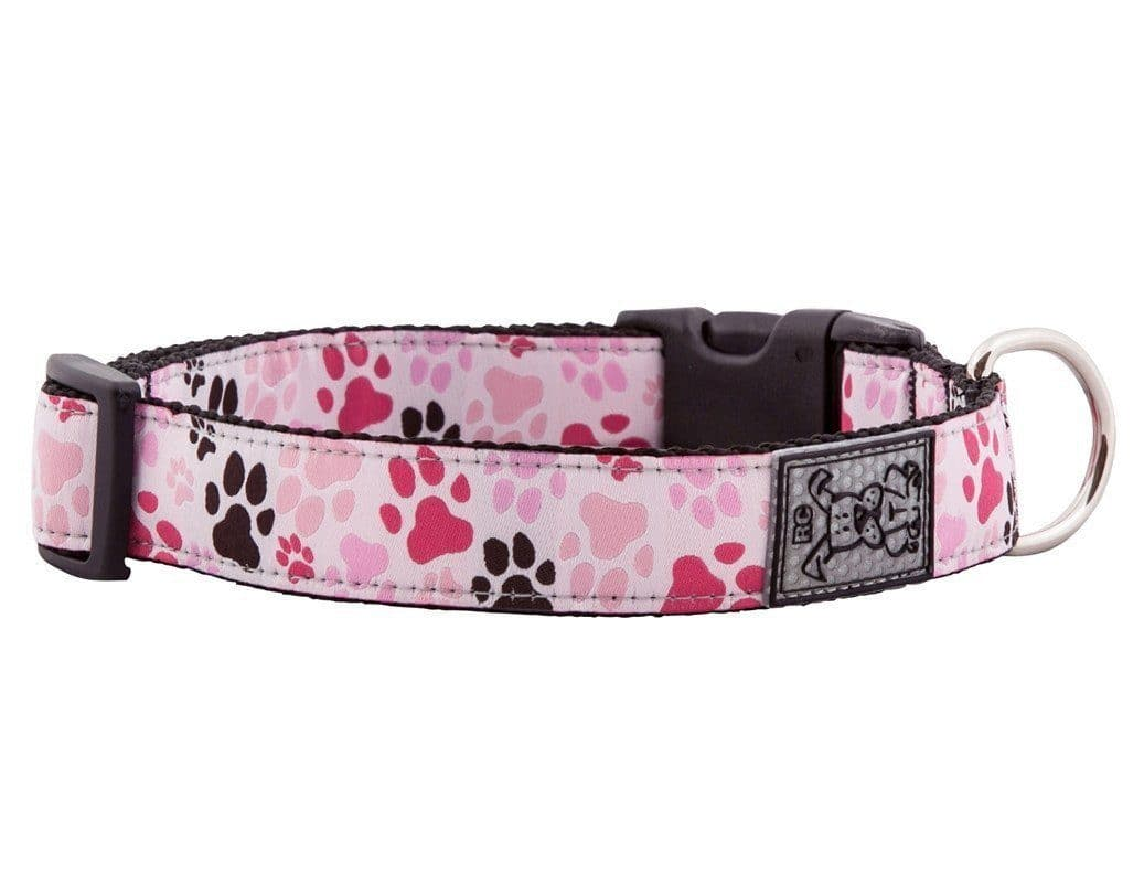 Clip Collar Para Perros Modelo Pitter Patter Pink