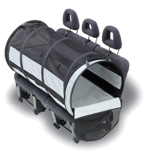 Túnel Transportador Para Perros Para el Carro - Pet Tube Carrier de Petego® / Cojines Para Pet Tube