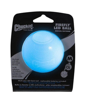 Pelota con Luz Interna LED de Colores - Firefly LED Ball de Chuckit!