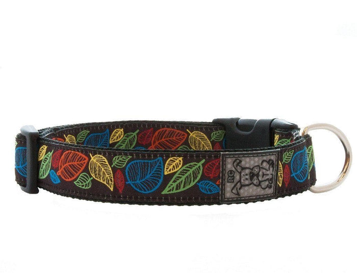 Clip Collar Para Perros Modelo Autumn Leaves