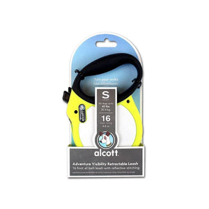 Adventure Retractable Leash Neon Yellow - Correa Retráctil Alcott® en Amarillo Neon