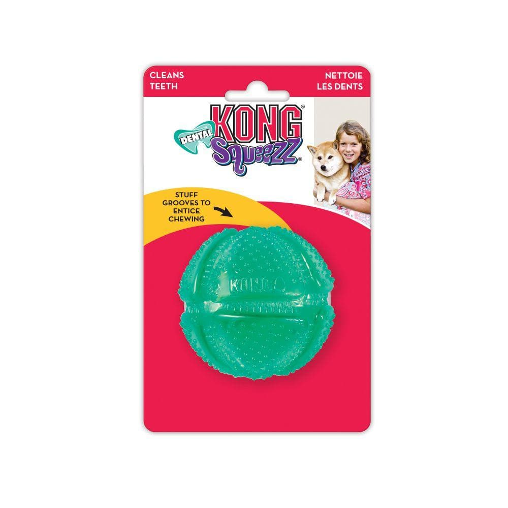 Squeezz® Dental Ball - Pelota de Limpieza Dental de Kong