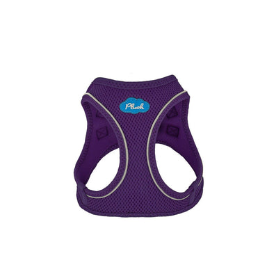 Plush Vest Air-Mesh Arnés/Pechera Para Perros Purpura