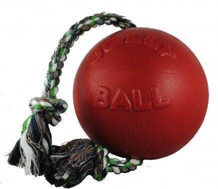 Jolly Pets Romp & Roll Ball® - Pelota con Cuerda de Jolly Pets