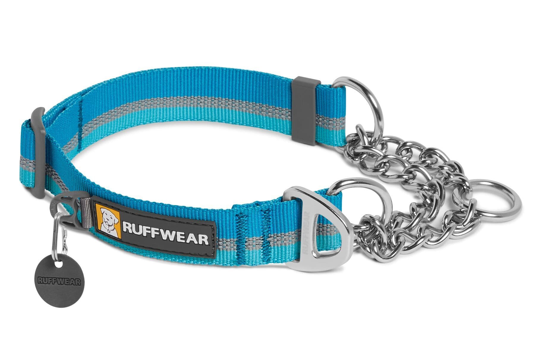 Collar para Perros Modelo Chain Reaction en Azul (Blue Dusk) - Ruffwear